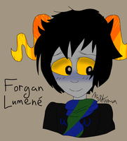 Forgan Lumene - Coloured by AmiScribbles