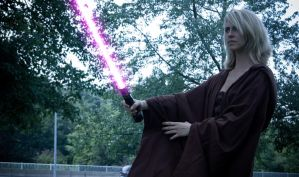 jedi emma preparing for duel by tonysak
