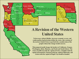 Proposal for the Revision of the Western US by BlueArctica