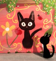 the black cats by NeasLon