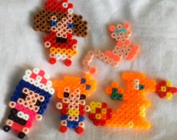 Pokemon perler beads by razledazle