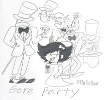 Stella,She's a Spygirl : The Gore Party by komi114