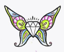-: Butterfly Diamond :- by Its-a-Carly