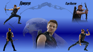 Revised Hawkeye Clint Barton Wallpaper by WildHorseFantasy