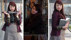 Once Upon A Time - Belle French 2x11 Outfit by NeitiMyrskytuuli