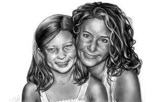 Mother and Daughter by Anothen