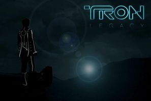 Tron Legacy Quick Poster by ChevronTango