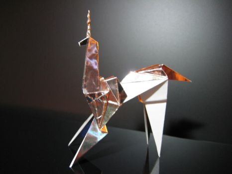 Blade Runner Unicorn Origami Prop by FurtherShore