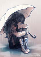 Rainy Day Redraw by whispwill