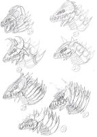 Omegaken Head Redesigns 6 by JacobS-KaijuCreator