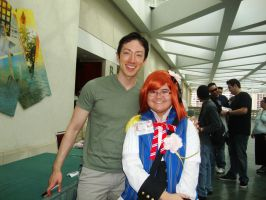 Me and Todd Haberkorn by TenTen143