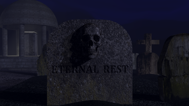 Eternal Rest: a possible Album cover by MontaraMike