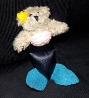 Mermaid Bear by AbleSistersFanCrafts