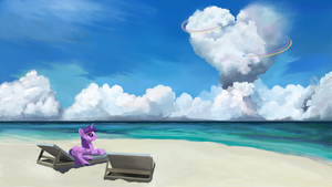 Cheesy cloud sculpting by Sycreon