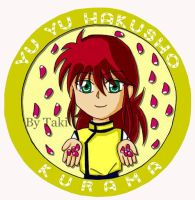 yuyu hakusho pin series no 3 by buseiohtaki