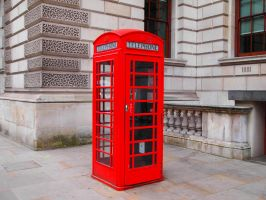 that red telephone box by Chris21465