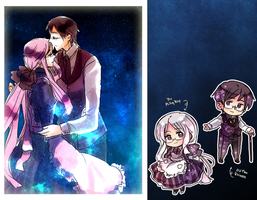 Lady Milky Way and Universe by Cioccolatodorima