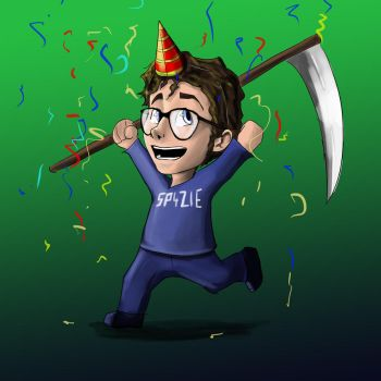 Surprise party Sp4zie Fiddlesticks by MrFedericu