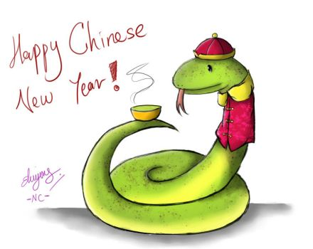 Year of the Snake by naochandoodles