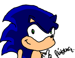 Sonic The Hedgehog by rubinho146