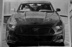 Ford Mustang VI (2015) by Blaze88