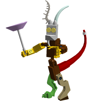 LEGO MLP: Discord Figure by CM4S
