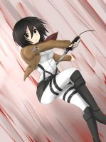 Mikasa by Crime000