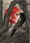 Bloodmoon: the raven by 222maya