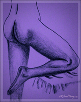 Female Legs and Buttocks by RicGrayDesign