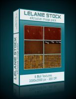 Exclusive Wall Texture Pack 01 by Lelanie-Stock
