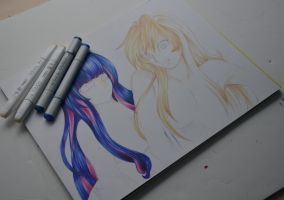 Panty and Stocking WIP by AngelasExtras