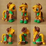 Applejack in Gala Dress Custom by atelok