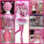 Cure Melody Wig - Making Of by renataeternal