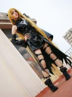 I am the legendary assasin Golden Darkness by AgosAshford