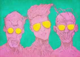sunglasses heads by anderton