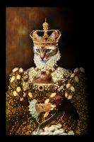 Queen Lucy the first by halogenlampe