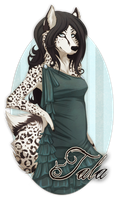 Tala Badge by Plaguedog