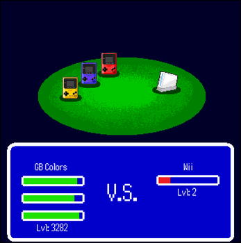 The WTF RPG: Gameboy Colors VS Wii by Rthecreator