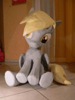 Derpy Hooves Papercraft - 360 degree gif by Znegil