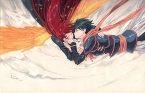 Shakugan No Shana: The Kiss by Nick-Ian