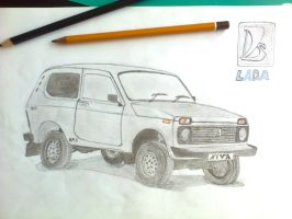 Lada Niva 4x4 by TigerFire3