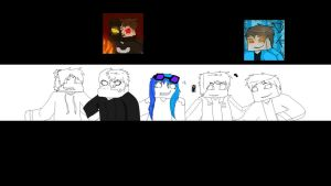 minecraft pic group banner request thing wip XD by BlueElk