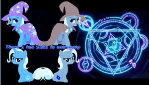 Everypony has two sides by Discourt