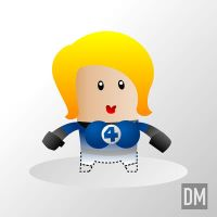 Invisible Woman by DanielMead