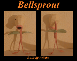 Bellsprout Paper Pokemon by Adisko