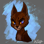 cat_sketch by X-Zelfa