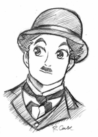 Charlie Chaplin by rongs1234