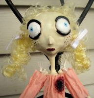 The Bad Seed art doll by Miss-Millificent