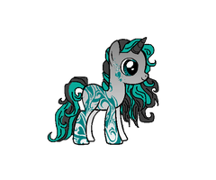Tribal Pony Adopt by Swaps-Adopts