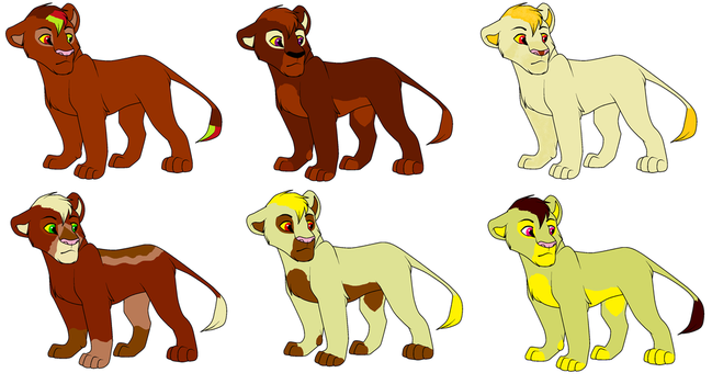 6 - adopts - open 5 left by sadie1079